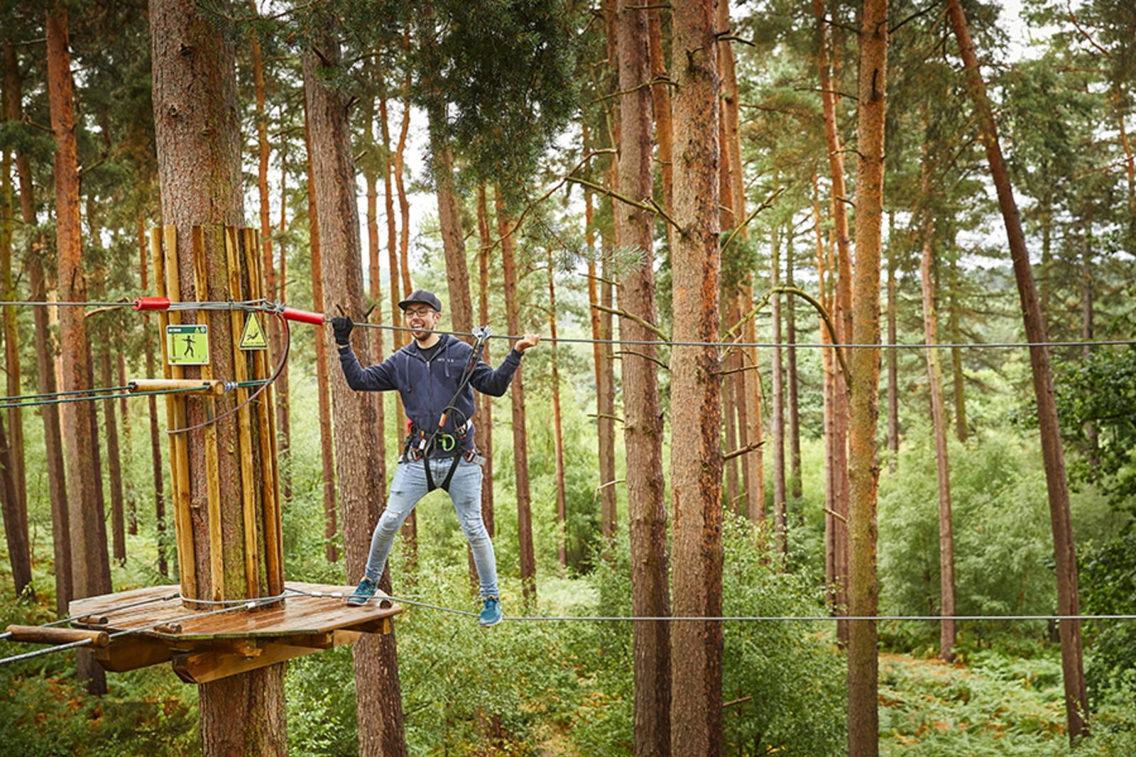 Go Ape Alice Holt Day Out With The Kids