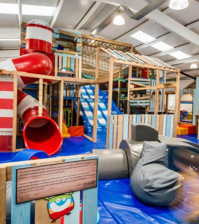 Soft play area at the Quay