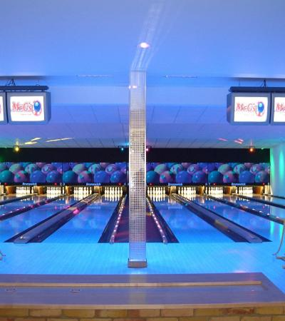 Bowling alleys at Mr Gs Bowling Centre in Brandon
