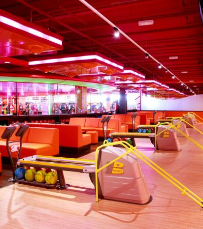 Cafe at Namco Funscape London in Southwark