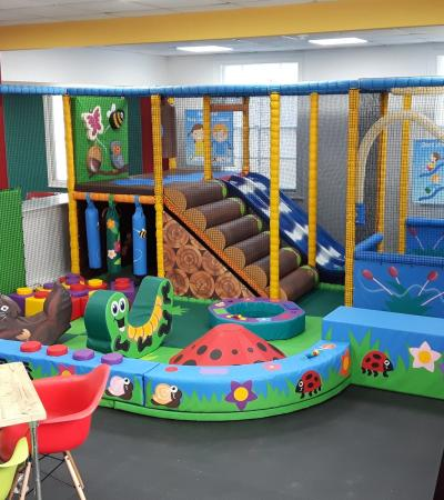 Toddler soft play area at The Square in Wells