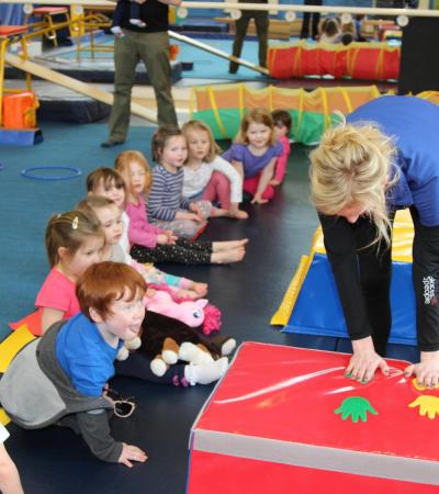 Kids playing at Cranleigh Leisure Centre Soft Play
