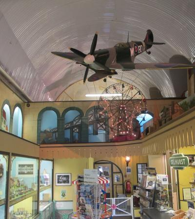 Inside of Toy and Model Museum in Brighton