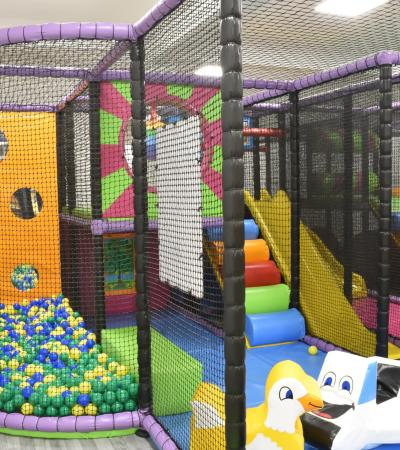 Some of the soft play at  Baloo's Softplay in Trowbridge