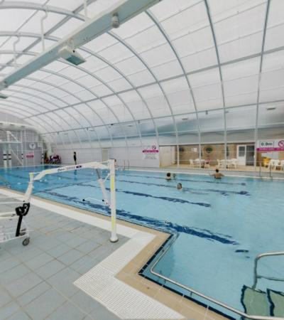 Swimming pool at Highworth Recreation Centre in Swindon