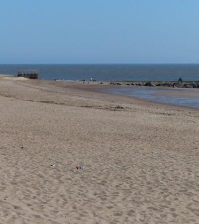 The beach at Ingoldmells South, Skegness