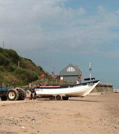 A view of Mundesley Beach, Mundesley