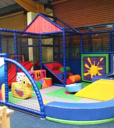 Toddlers soft play area at Little Rascals in Buxton