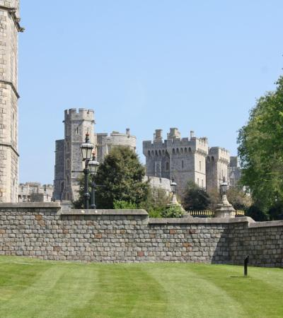 Windsor Castle's garden on Curious About Windsor trail