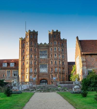 Outside view of Layer Marney Tower in Colchester