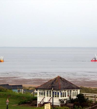 A view of Old Hunstanton Beach, Old Hunstanton