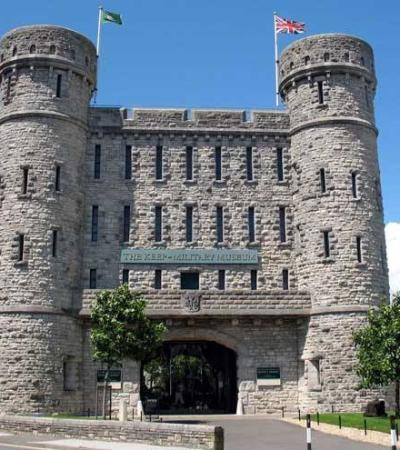 Outside view of The Keep Military Museum in Dorchester