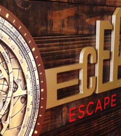 Entrance at Deception Escape Rooms in Matlock