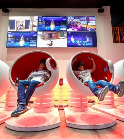 Kids at Vertigo VR in Milton Keynes