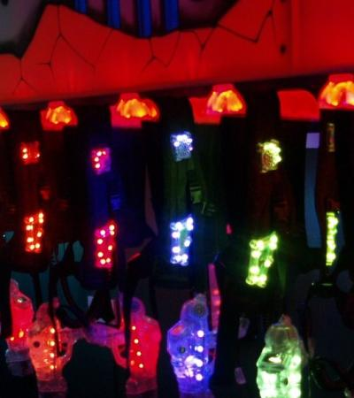 Laser tag equipment at Laser Labyrinth in Worksop