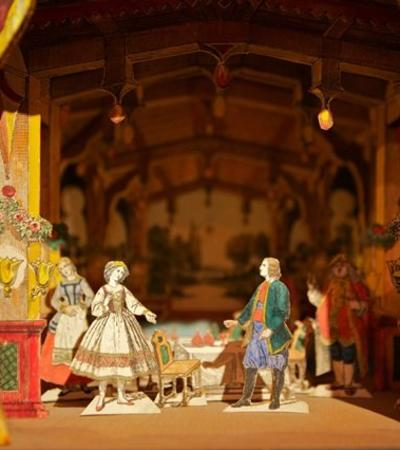 Toy theatre gallery at Pickford's House in Derby