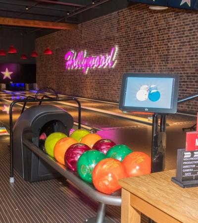Bowling balls at Hollywood Bowl, Derby