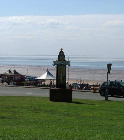 A view of Hunstanton Beach, Hunstanton