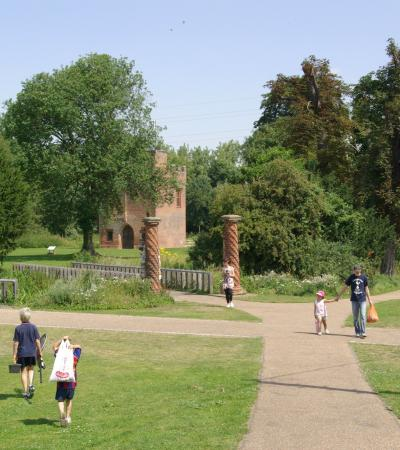 Families at Rye House Gatehouse in Hoddesdon