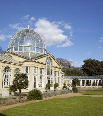 Syon Park Conservatory in Brentford