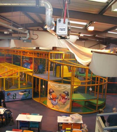 Soft play area at Castaways Cove in Sheffield