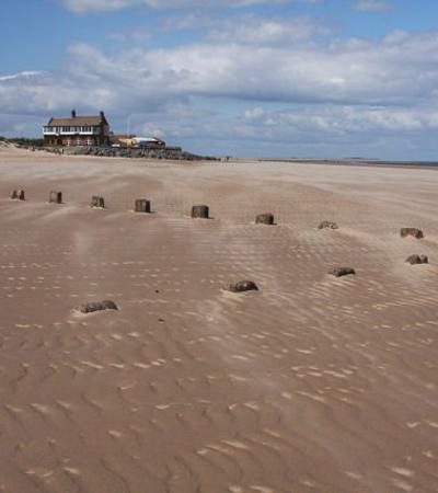 A view of Brancaster Beach, Brancaster