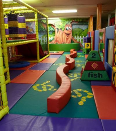 Toddler soft play area at Outburst Salisbury