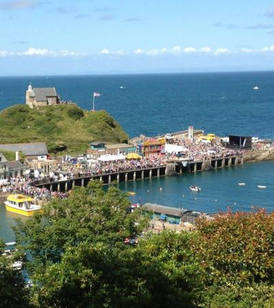 The Ilfracombe Princess Cruises at Ilfracombe harbour