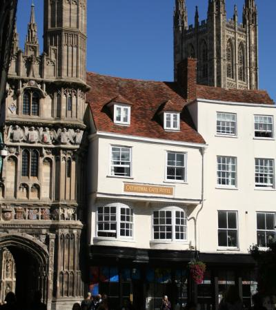 Cathedral Gate Hotel on Canterbury Guided Walking Tours
