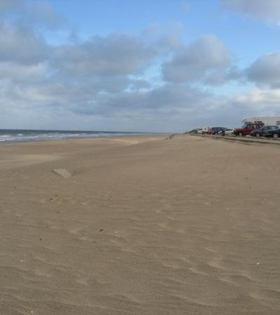 A view of Moggs Eye Beach, Lincolnshire