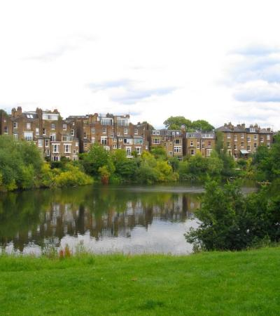 Hampstead Heath pond