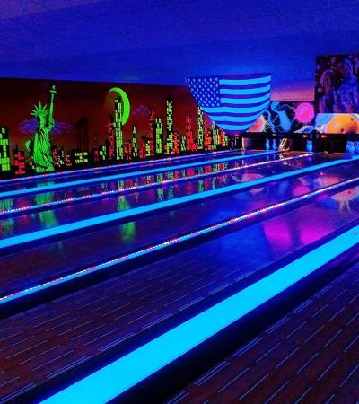 Bowling alleys at Skegness Pier