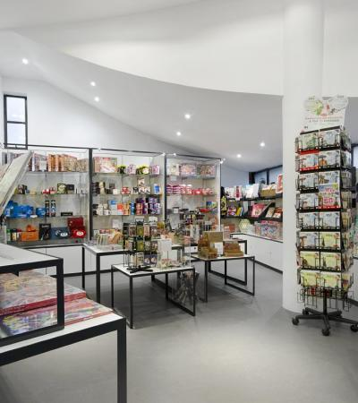 Gift shop at Museum of Brands in London