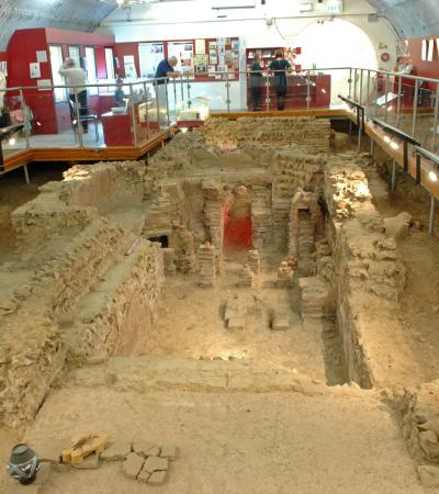 Bath house at Welwyn Roman Baths