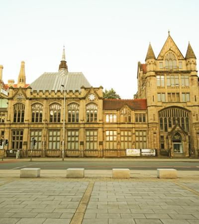 Outside view of The Manchester Museum