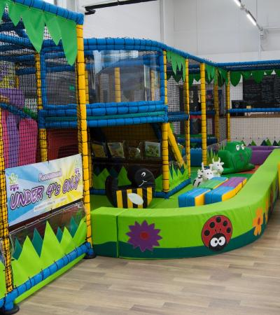 The play area at Playmania Sheffield