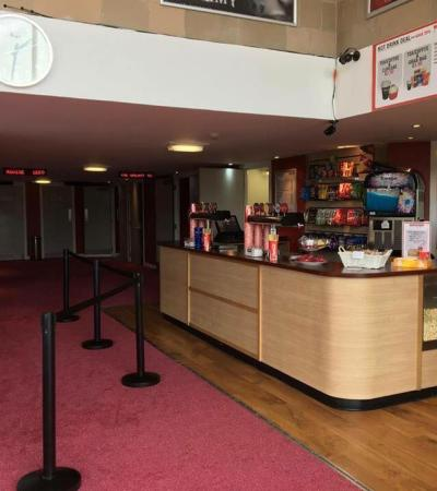 Snacks and entrance at Waterfront Cinema in Greenock