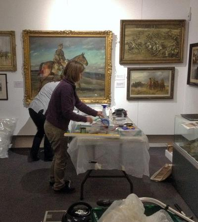 Exhibition at Melton Carnegie Museum in Melton Mowbray