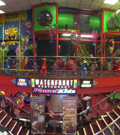 Indoor softplay, game centre, and restaurant at Kids World Skegness
