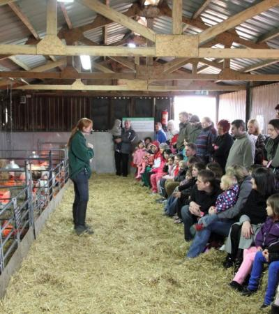 Staff presentation at Wroxham Barns in Hoveton