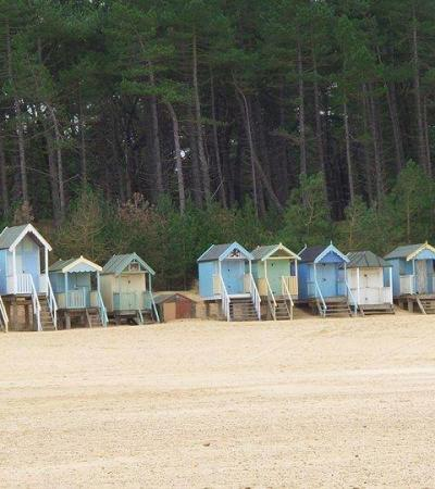 Beach huts at Wells Next The Sea Beach