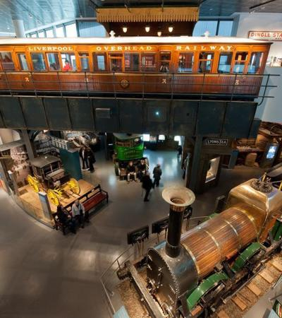 Exhibition of railway collections at Museum of Liverpool