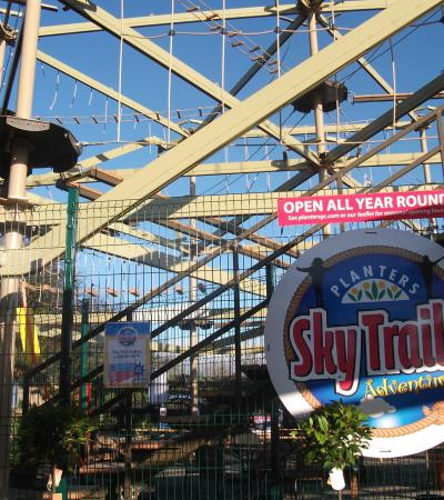 Outside view of Planters Sky Trail Adventure in Tamworth