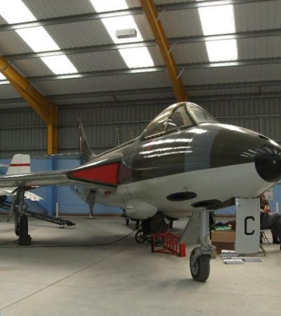 Aircrafts at Newark Air Museum