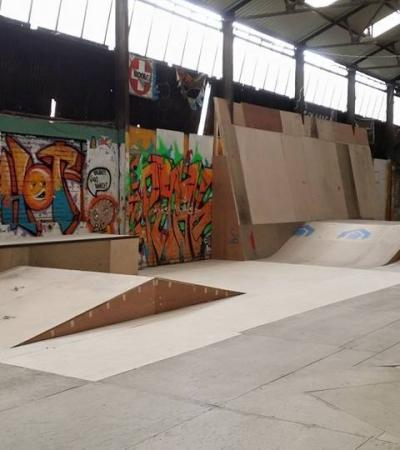 Ramps at The House Skatepark in Sheffield