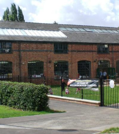 Outside view of Wellingborough Museum