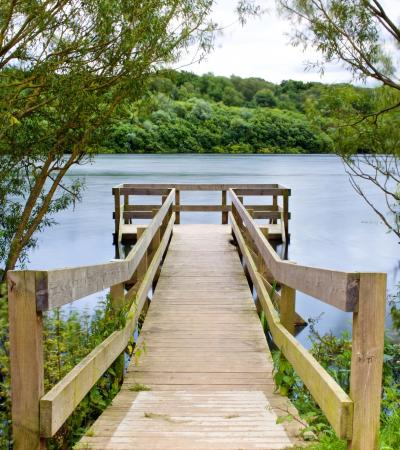 Dock at Ruislip Lido