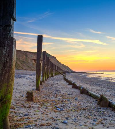 Sunset at Sheringham Beach