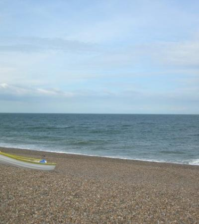 A view of Weybourne Beach, Weybourne