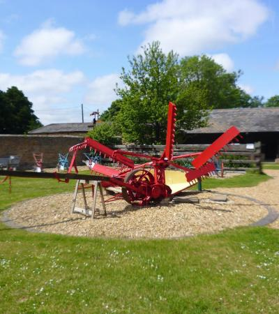 Machinery at The Farmland Museum and Denny Abbey in Waterbeach